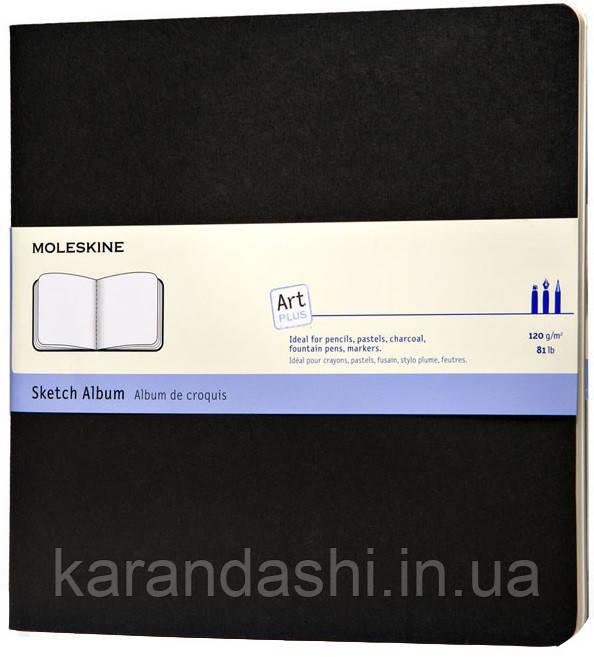 Блокнот Moleskine Art Cahier средний черный ARTSKA5