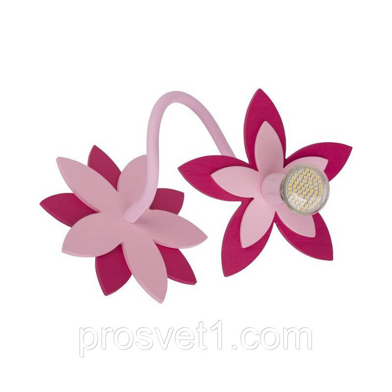 Светильник настенный Nowodvorski FLOWERS PINK 6893
