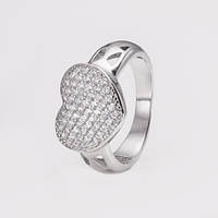 Кольцо Сердце 3748