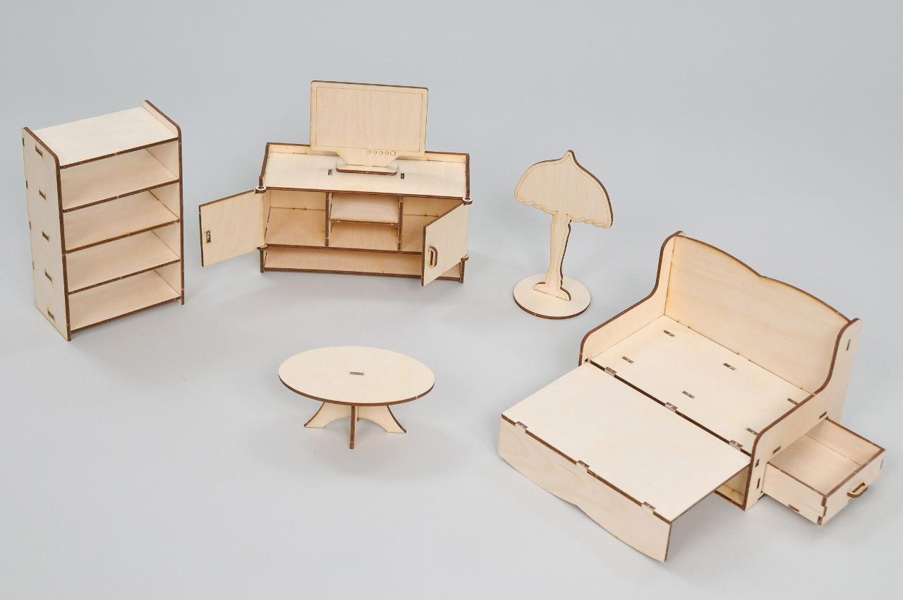 Мебель премиум FANA для особняка Барби - Гостиная (3013)