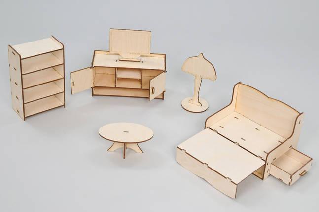 Мебель премиум FANA для особняка Барби - Гостиная (3013), фото 2