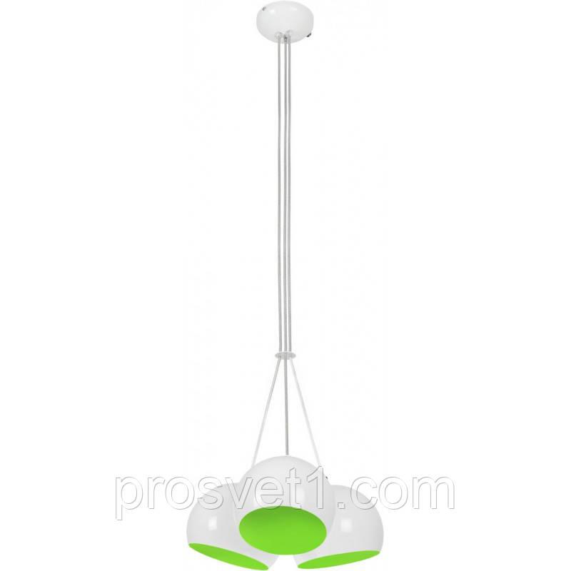 Люстра Nowodvorski BALL WHITE - GREEN FLUO 6473