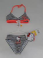 """Детский пляжный раздельный купальник для девочки """" Hello Kitty"""", Франция"""
