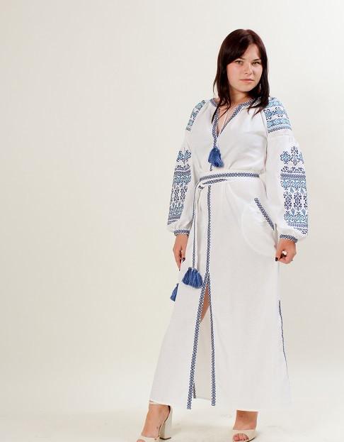 Современное вышитое платье   продажа 5037ea7e02f42