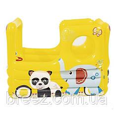 Детский надувной центр Bestway Школьный автобус 137 х 96 х 96 см с шариками 20 шт, фото 3