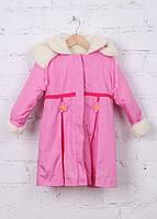 Пальто для девочки Сакура