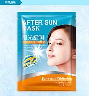 Маска-салфетка для лица летняя успокаивающая увлажняющая ONESPRING (30г)