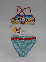 """Детский пляжный раздельный купальник для девочки """"Minnie"""", Франция"""