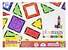Конструктор Playmags Магнитный набор 60 эл., фото 2