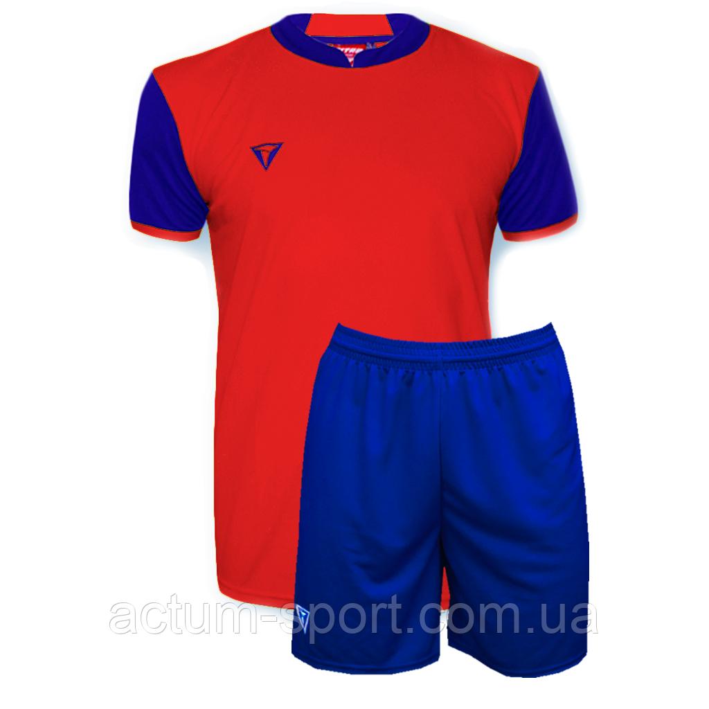 Футбольная форма Classic Красно/т.синий, S