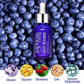 Сыворотка для лица с гиалуроновой кислотой и экстрактом черники BIOAQUA Blueberry Essence Wonder (15мл)
