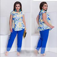 Яркий летний костюм, с 50-56 размер
