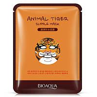 Маска-салфетка для лица Тигр питательная BIOAQUA Animal Tiger Mask (30г)