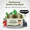 Маска для лица кислородная пузырьковая очищающая и отшелушивающая BIOAQUA Skin Care Carbonated Bubble Clay Mask (100мл), фото 7