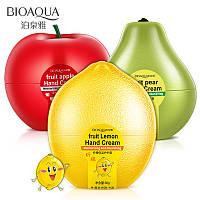 Крем для рук восстанавливающий грушевый BIOAQUA Fruit Pear Hand Cream (30мл)