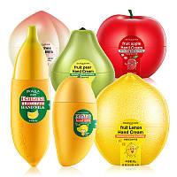 Крем для рук отбеливающий лимонный BIOAQUA Fruit Lemon Hand Cream (30мл)