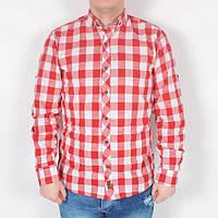 Стильна чоловіча сорочка в клітку ТОП- якість