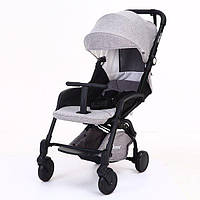 Yoya Care 2018 Grey Серая Прогулочная детская коляска-трансформер 2 в 1 Алюминиевая