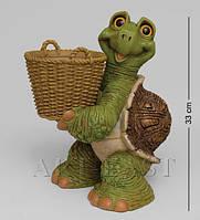 Кашпо Черепаха с корзиной 33 см GG-4708 LE