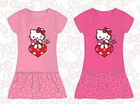 Платье для девочек Hello Kitty оптом, 2-6 лет.