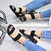 Босоножки женские Milena черный 4760, сандалии женские