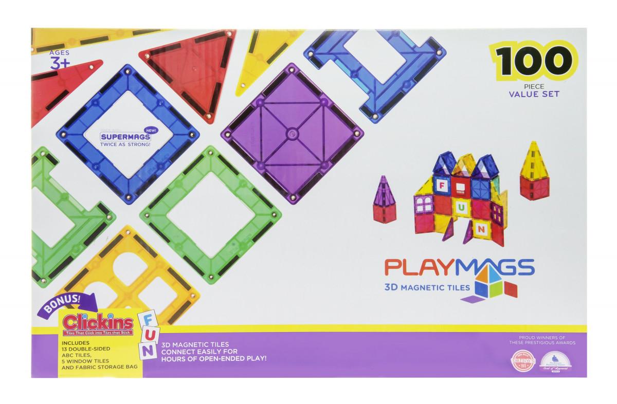 Playmags Магнитный набор 100 эл. PM151