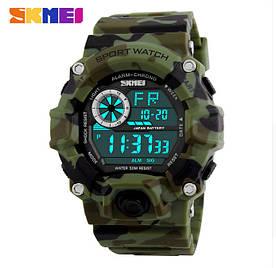 Часы спортивные мужские SKMEI, Камуфляжные военные часы