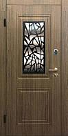 """Входная дверь для улицы """"Портала"""" (Стандарт со стеклопакетом) ― модель S-4"""