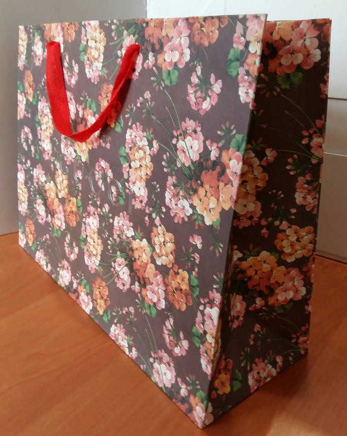 Подарочный пакет Gucci: горизонталь, mахi, фото 2