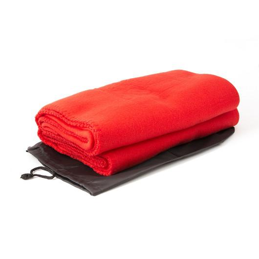 Плед RED у черном чехле