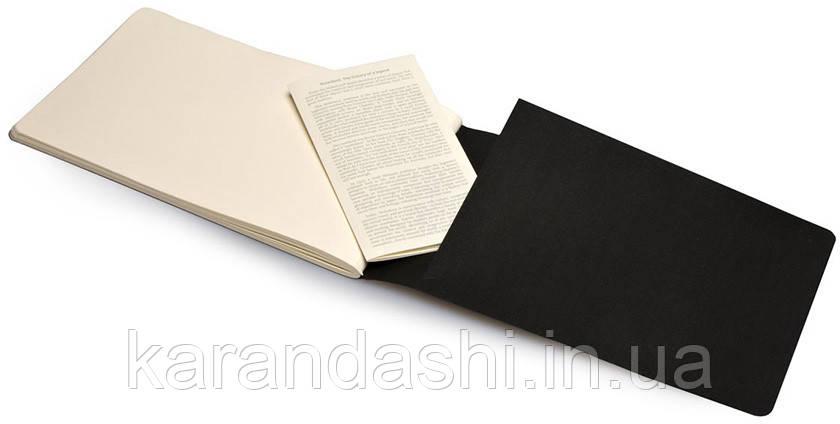 Блокнот Moleskine Art Cahier средний черный ARTSKA3, фото 2