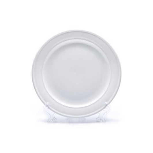 Тарелка фарфоровая круглая D270