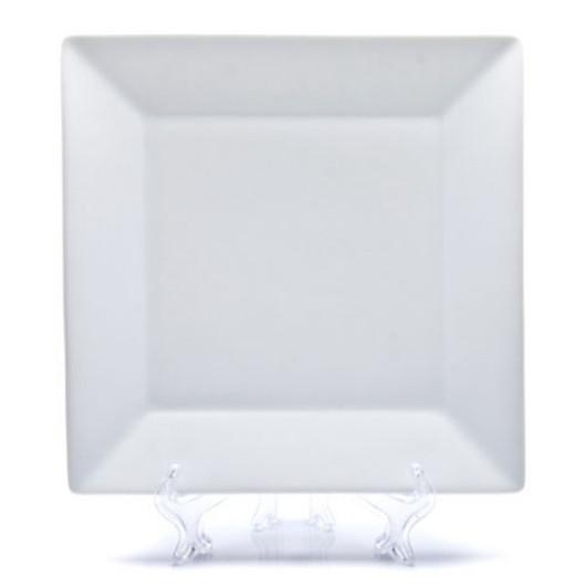 Тарелка фарфоровая квадратная  D290