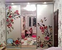Раздвижные двери на шкаф-купе. Фасады с наполнением., фото 1