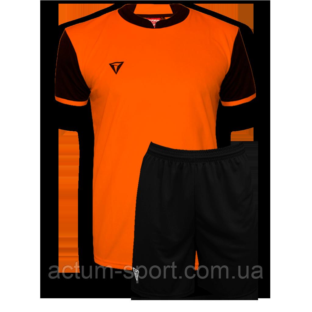 Футбольная форма Classic  Оранж/черный, M