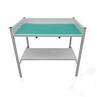 Стол пеленальный из нержавеющей стали | Цена медицинского пеленального столика от изготовителя в Киеве