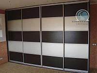 Раздвижные двери на шкаф-купе с  наполнением ДСП, фото 1