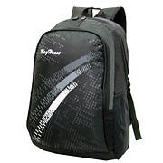 Рюкзак BagHouse городской, чёрный 29х46х22 ткань нейлон  к 6603р