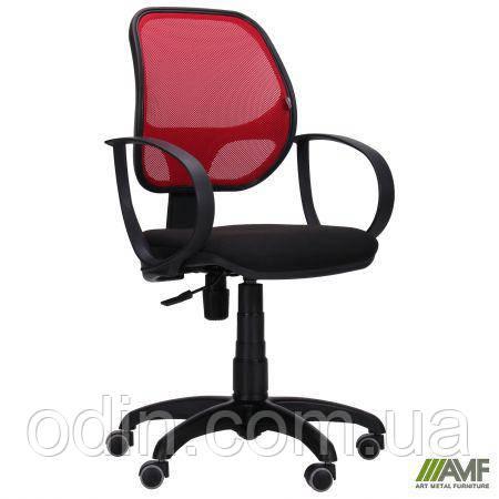 Кресло Бит/АМФ-8 сиденье А-1/спинка Сетка красная 128012
