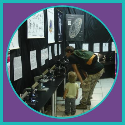 Зоопарк під мікроскопом на детские квест рождения на ВДНГ