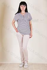 Блуза трикотажная 7004-141/2-238 полубатал от производителя Украина