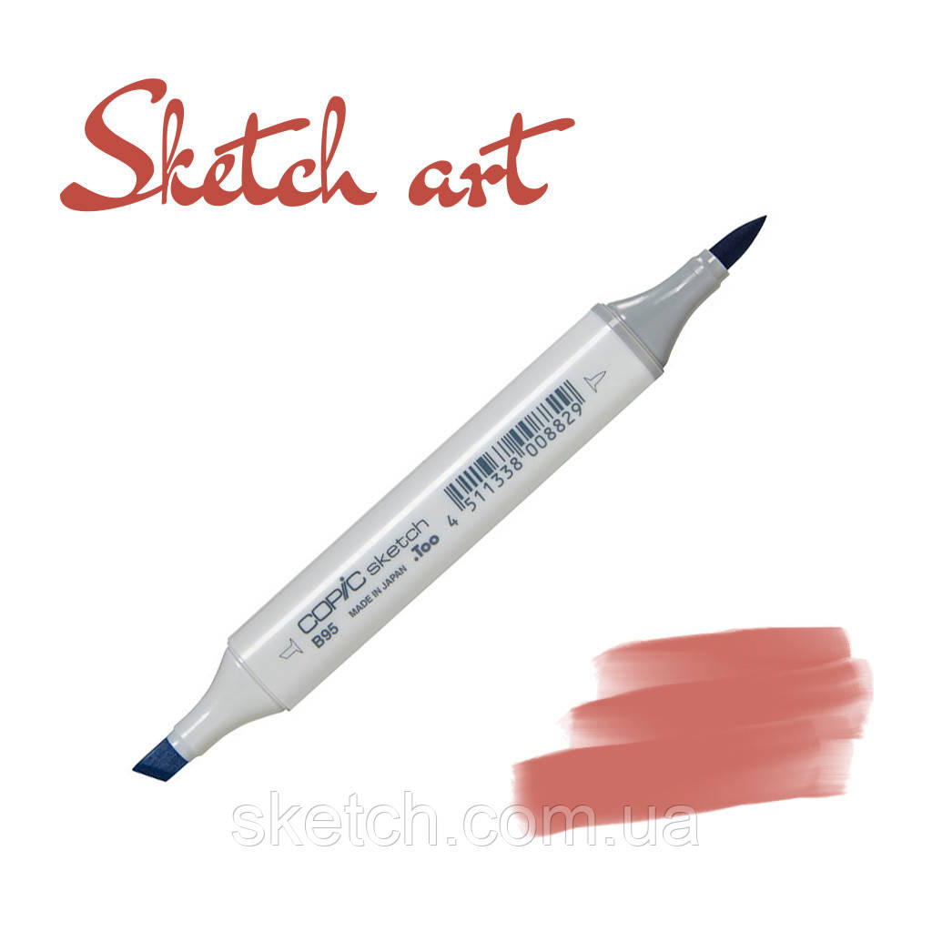 Copic маркер Sketch, #E-19 Redwood