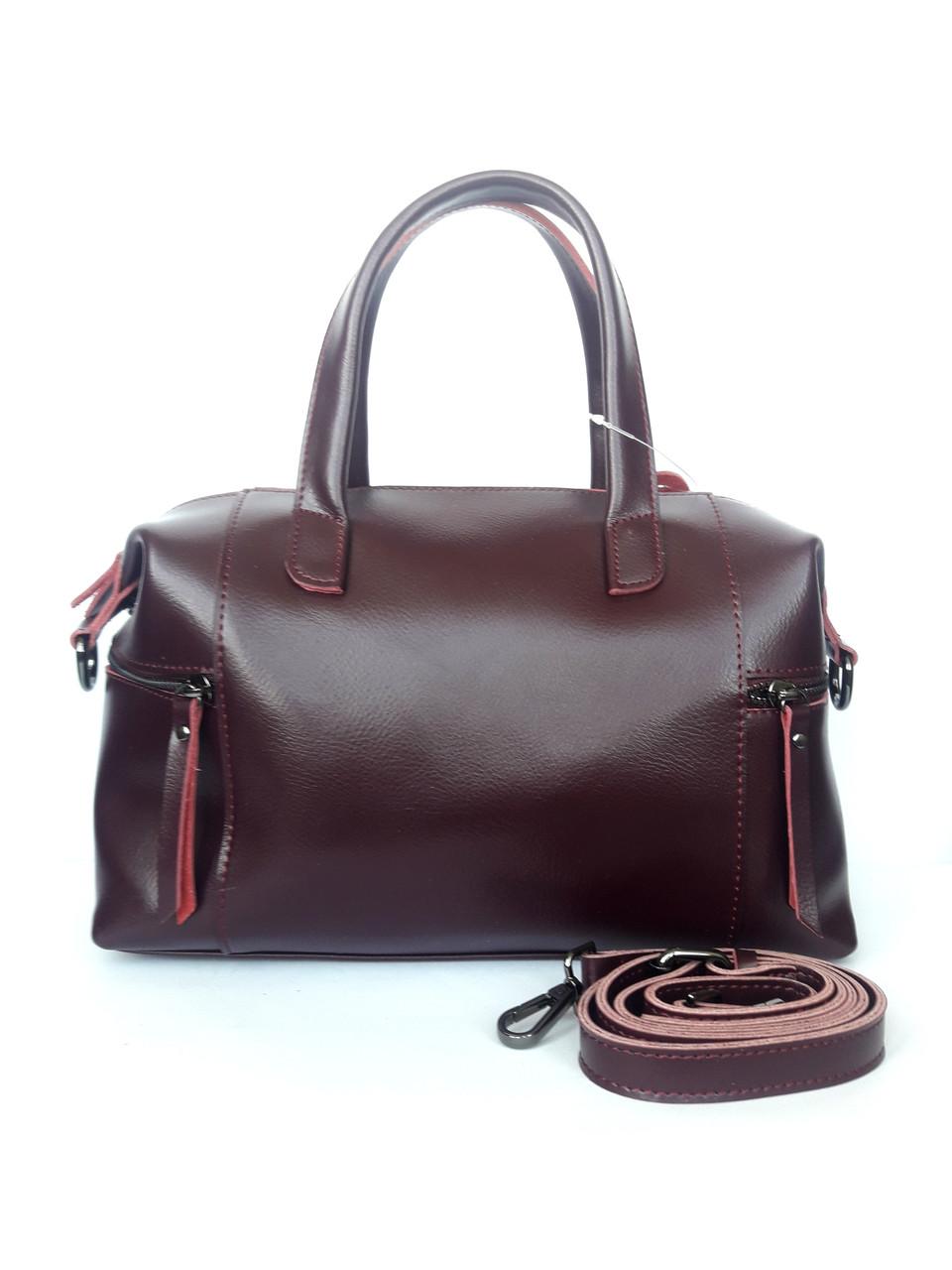 440b12ea8514 Женская кожаная сумка (сумка-трансформер)