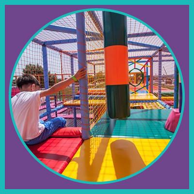 Карлсон Парк на детские квест рождения на ВДНГ