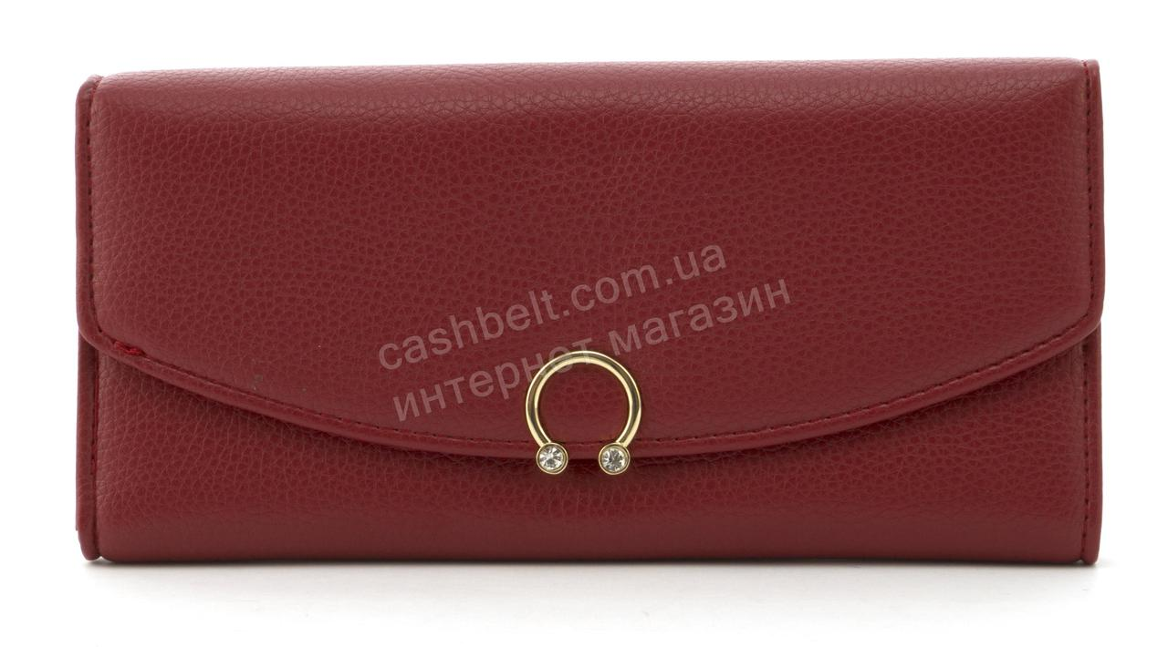 Прочный многофункциональный женский прочный кошелек эко кожи TAILIAN art. T5518-001 красный