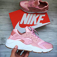 Женские кроссовки Nike Air Huarache PRM Pink