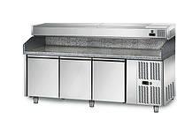Стол для пиццы POS208N#AGS203EN GGM GASTRO (холодильный)