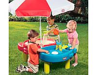 Стол песочница с зонтиком Little Tikes 401L, фото 1