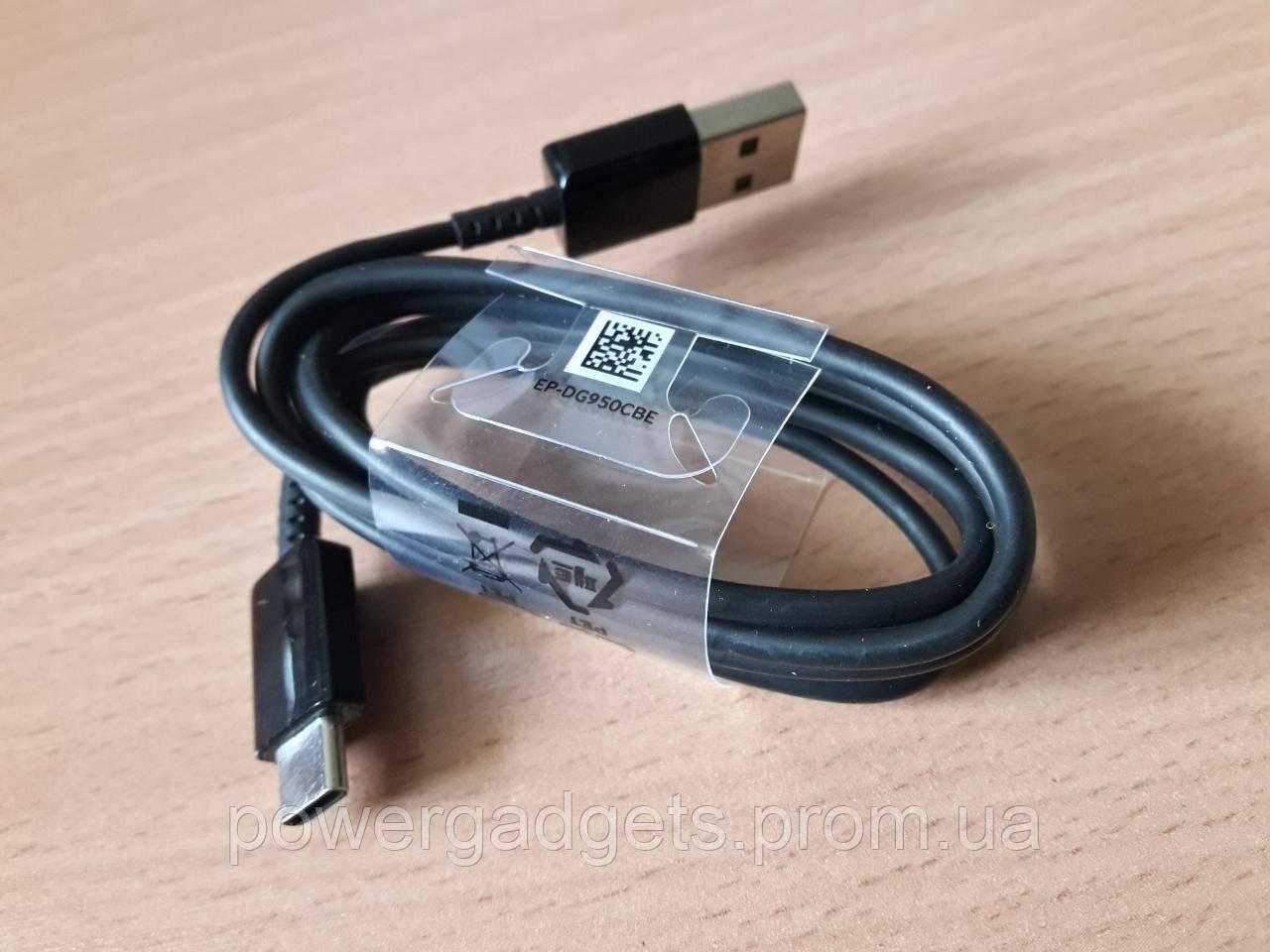 Кабель Samsung EP-DG950CBE USB A-Type C черный оригинал