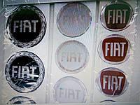 Силиконовые 3D наклейки на диски и колпаки Fiat